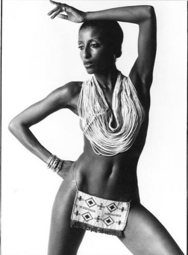 Linda Carter modelling career pictures